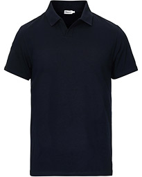Soft Lycra Polo T-Shirt Navy