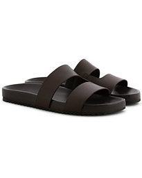 Chadwick Handpainted Sandal Dark Brown Calf