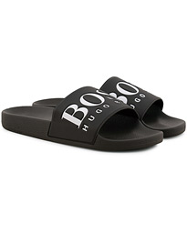 wholesale dealer 72182 e885a BOSS Athleisure Solar Slide Flip Flop Black