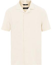 39d55778 Schnayderman's Linen Camp Collar Short Sleeve Shirt Beige hos Car