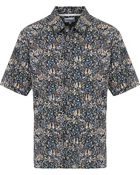 d05d1a3022d Norse Projects Liberty London Short Sleeve Casual Shirt Ivy Green