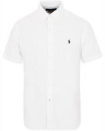 99a80bb80de Polo Ralph Lauren Custom Fit Garment Dyed Oxford Short Sleeve White