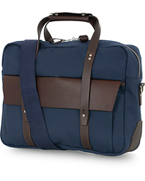 Chapman Bags Wye Work Canvas Briefcase Navy