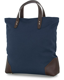 Chapman Bags Tyne Canvas Tote Bag Navy