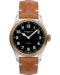 Montblanc 1858 Steel Bronze Automatic 40mm Black Dial