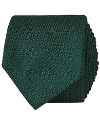 Amanda Christensen Silk Grenadine 8 cm Tie Green