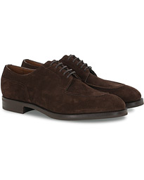 Edward Green Dover Split Toe R2 Sole Derby Mink Suede