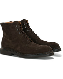Ginkgo Boot Dark Brown Suede