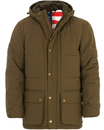 Barbour International Steve McQueen Goshen Quilted Jacket Army Green