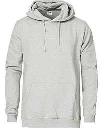 Barrow Printed Hoodie Light Grey Melange