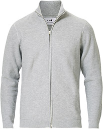 Patrick Full Zip Medium Grey Melange