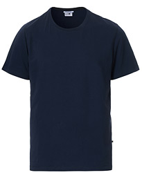 Pima Crew Neck Tee Navy Blue