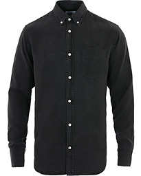 NN07 Levon Tencel Denim Shirt Black