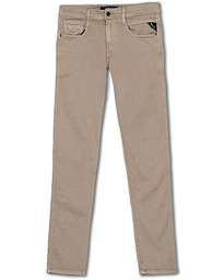 Replay Anbass Hyperflex 5-Pocket Trousers Sand