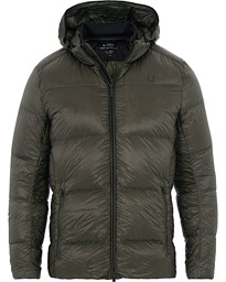 Oxygen Down Jacket Forest Green