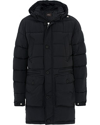 Clayton Lightweight Puffer Coat Black