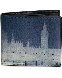Paul Smith London Photo Print Billfold Black