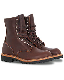 Logger Boot Briar Oil Slick Leather