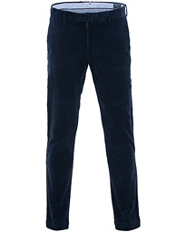 Polo Ralph Lauren Hudson Slim Fit Corduroy Trousers Cruise Navy