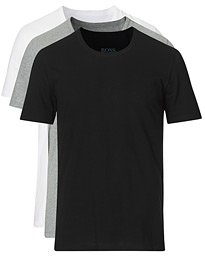 BOSS 3-Pack Crew Neck Tee Grey/White/Black