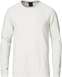 BOSS Casual Tempest Sweater White