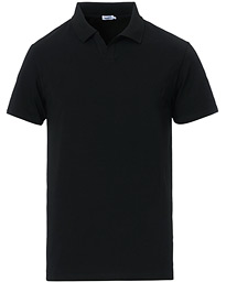 Soft Lycra Polo T-Shirt Black