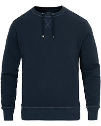 Ron Dorff Drawstring Sweatshirt Navy