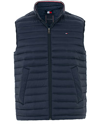 Tommy Hilfiger Packable Lightweight Down Vest Sky Captain