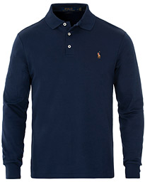 Polo Ralph Lauren Pima Cotton Long Sleeve Polo French Navy