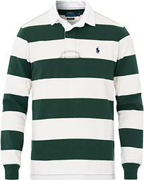 Polo Ralph Lauren Block Stripe Rugger Vintage Pine/White