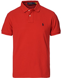 Custom Slim Fit Polo Red
