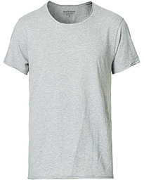 Bread & Boxers Crew Neck Relaxed Grey Melange