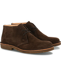 Greenflex Desert Boot Dark Brown Suede