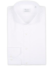 Stenströms Fitted Body Extreme Cut Away Shirt White