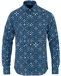 GANT Slim Fit Printed Paisley Shirt Marine