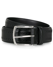 Allen Edmonds Manistee Brogue Belt Black Calf