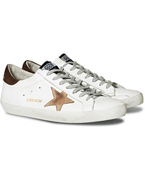 Golden Goose Deluxe Brand Incense Nabuck Star Superstar Sneaker White Calf