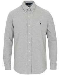 Polo Ralph Lauren Featherweight Mesh Shirt Andover Heather