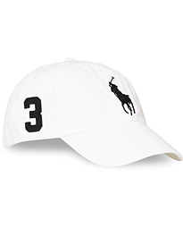Polo Ralph Lauren Big Pony Cap White