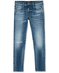 Replay Anbasss Power Stretch Jeans Ten Year Wash