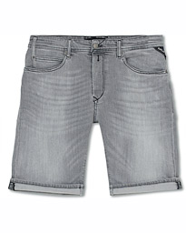 Replay RBJ901 Super Stretch Jeans Shorts Grey