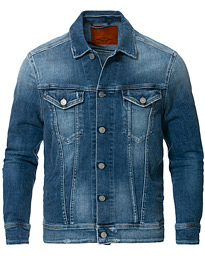 Replay Denim Power Stretch Jacket Medium Wash