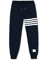 Thom Browne 4 Bar Loopback Sweatpants Navy