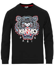 KENZO Tiger Classic Crew Neck Sweatshirt Black hos