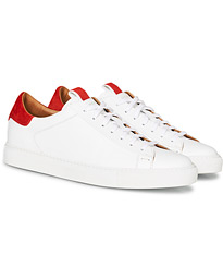 Slowear Officina Leather Sneaker White/Red
