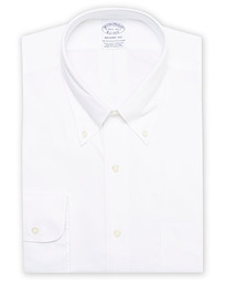 Regent Fit Non Iron Oxford Shirt White
