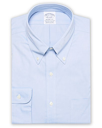 Regent Fit Non Iron Oxford Shirt Light Blue