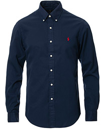 Polo Ralph Lauren Slim Fit Featherweight Twill Shirt Cruise Navy