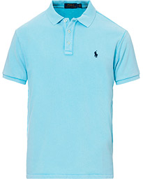 Polo Ralph Lauren Custom Slim Fit Spa Terry Polo Neptune Blue
