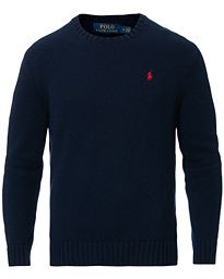 Polo Ralph Lauren Cotton Crew Neck Pullover Hunter Navy